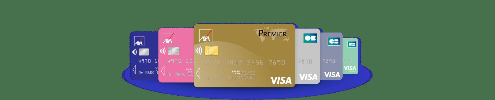 Cartes Bancaires Cartes De Paiement Axa Banque