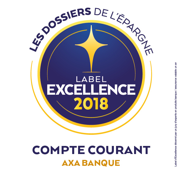 label excellence 2018 compte courant